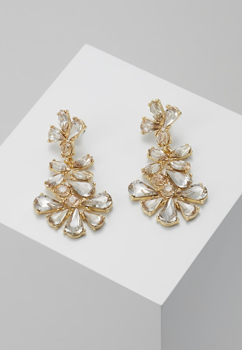 Pieces - PCJANE EARRINGS KEY - Oorbellen - gold-coloured