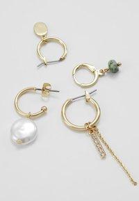 Pieces - Orecchini - gold-coloured - 2