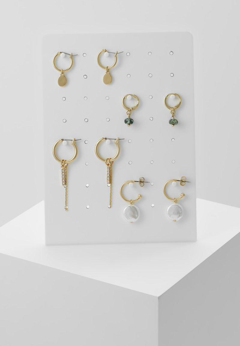 Pieces - Orecchini - gold-coloured