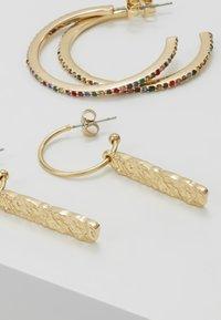 Pieces - Boucles d'oreilles - gold-coloured - 4