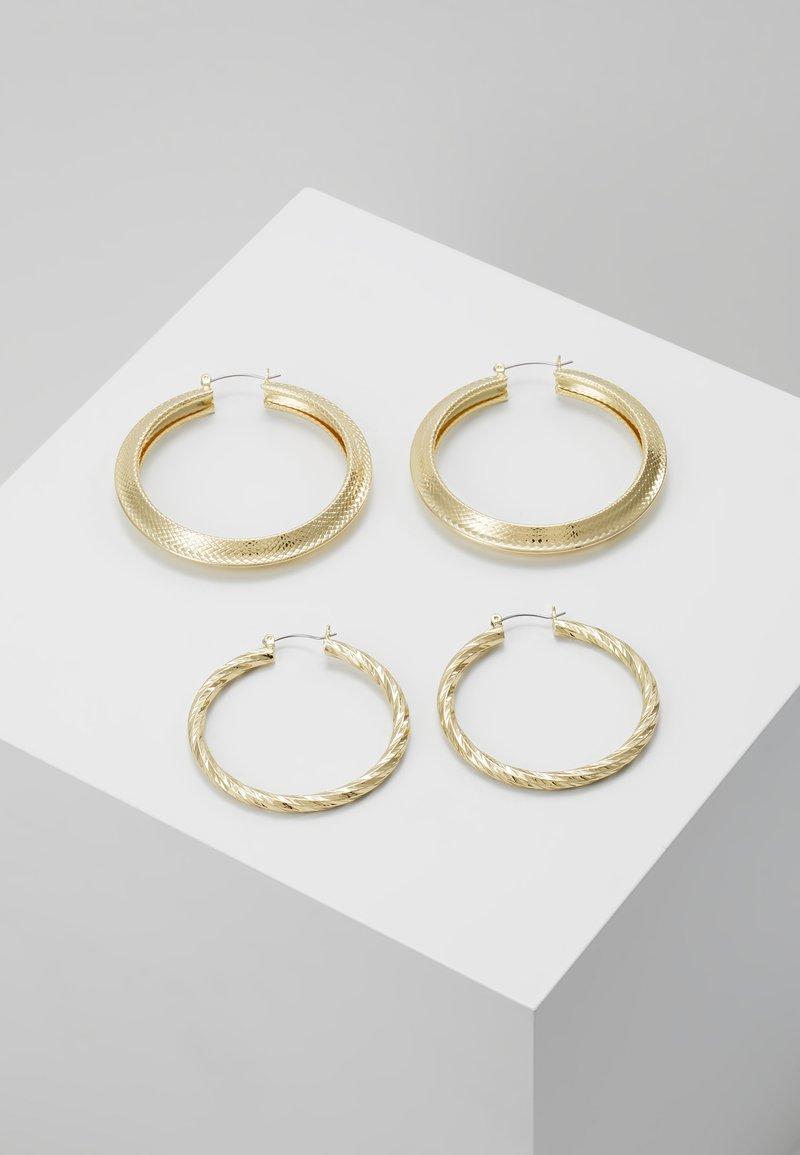 Pieces - Kolczyki - gold-coloured