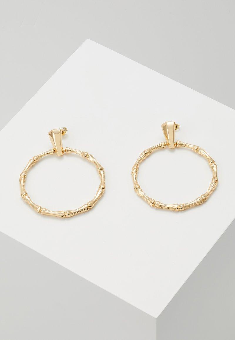 Pieces - PCFEEZA EARRINGS KEY - Ohrringe - gold-coloured