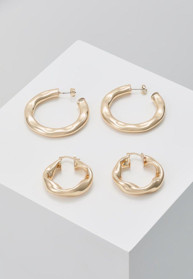 Pieces - PCKAURE EARRINGS KEY 2 PACK - Boucles d'oreilles - gold-coloured