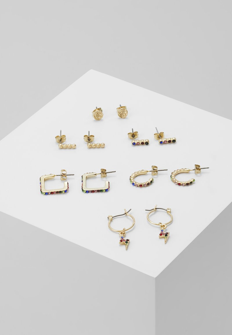Pieces - Pendientes - gold-coloured