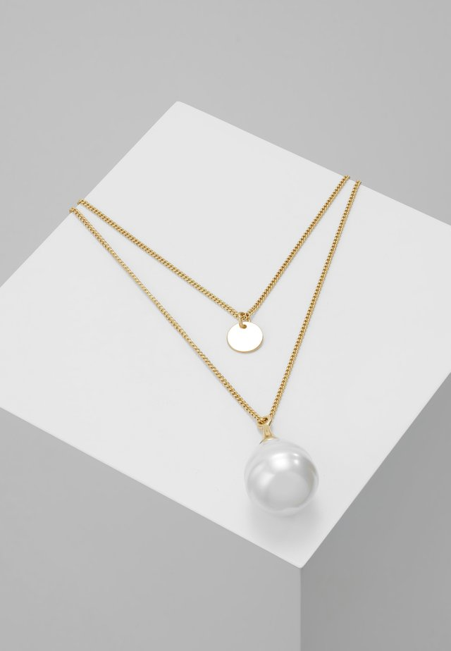 PCILLY COMBI NECKLACE KEY - Necklace - gold-coloured