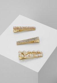 Pieces - Příslušenství kvlasovému stylingu - gold-coloured/lotus/clear - 0