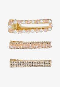 Pieces - Příslušenství kvlasovému stylingu - gold-coloured/lotus/clear - 3