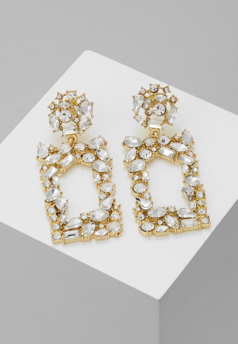Pieces - Korvakorut - gold-coloured/clear