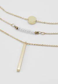 Pieces - Collier - gold-coloured - 4