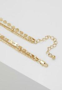 Pieces - Collar - gold-coloured - 2