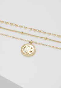 Pieces - Collar - gold-coloured - 4