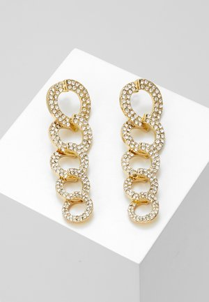 Boucles d'oreilles - gold-coloured/clear