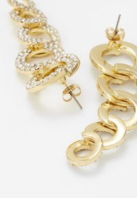 Pieces - Kolczyki - gold-coloured/clear - 2