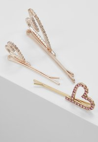 Pieces - Hair styling accessory - gold-coloured/clear/rose - 2