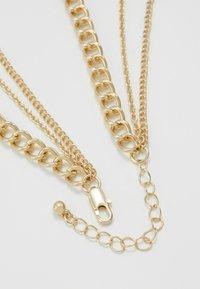Pieces - PCOSIGGA COMBI NECKLACE - Necklace - gold-coloured - 2