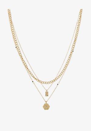 PCOSIGGA COMBI NECKLACE - Halsband - gold-coloured