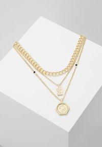 Pieces - PCOSIGGA COMBI NECKLACE - Necklace - gold-coloured - 0