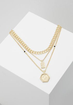 PCOSIGGA COMBI NECKLACE - Halsband - gold-coloured