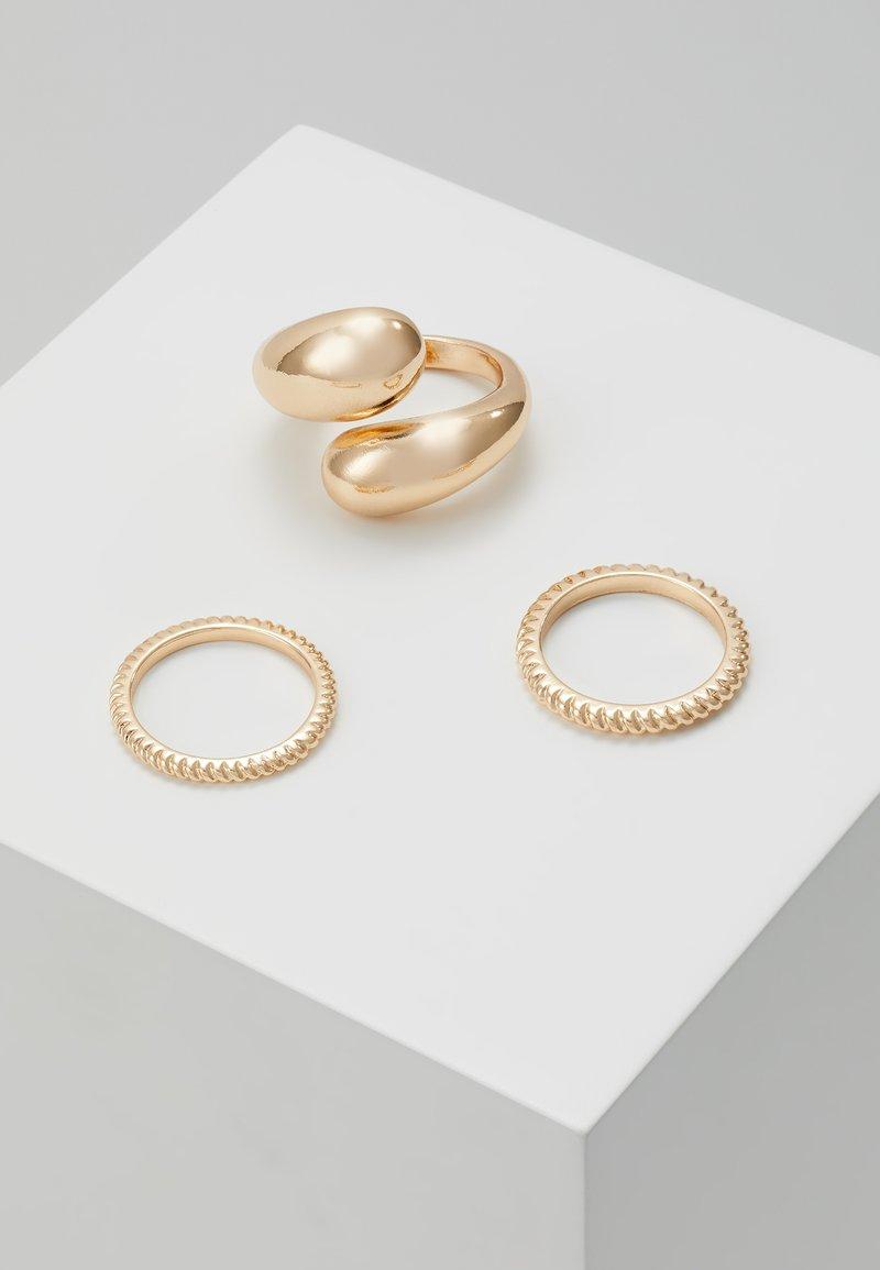 Pieces - PCTELLEN SET 3 PACK - Ring - gold-coloured