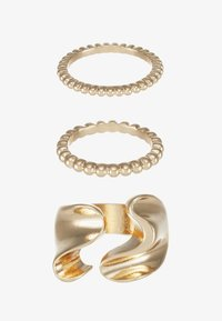 Pieces - PCLINNEA RING 3 PACK - Ring - gold-coloured - 3