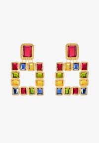 Pieces - PCSIGEM EARRINGS  - Örhänge - gold colour/multi - 3