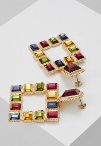 Pieces - PCSIGEM EARRINGS  - Örhänge - gold colour/multi - 2