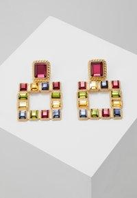 Pieces - PCSIGEM EARRINGS  - Örhänge - gold colour/multi - 0