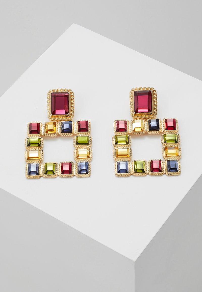 Pieces - PCSIGEM EARRINGS  - Örhänge - gold colour/multi