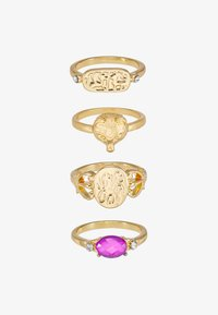 Pieces - PCMADELINE RING 4 PACK - Ring - gold-coloured/purple - 3