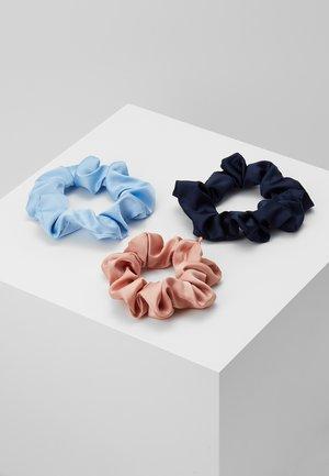 PCDALIANA SCRUNCHIE 3 PACK - Hair Styling Accessory - kentucky blue