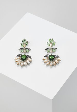 PCLARLO EARRINGS - Örhänge - emerald