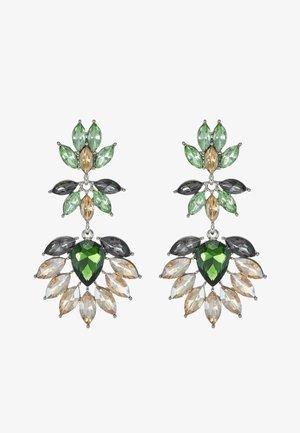 PCLARLO EARRINGS - Korvakorut - emerald