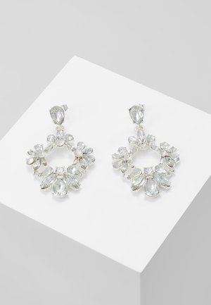 PCJULIETTE EARRINGS - Boucles d'oreilles - silver-coloured