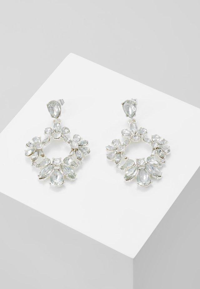 PCJULIETTE EARRINGS - Oorbellen - silver-coloured