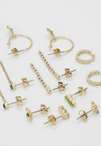Pieces - PCEMSE EARRINGS 6 PACK SET - Øredobber - gold colour - 2