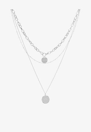 PCDIANE COMBI NECKLACE - Kaulakoru - silver-coloured
