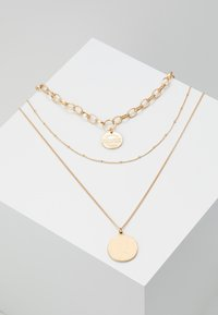 Pieces - PCDIANE COMBI NECKLACE - Ketting - gold-coloured - 0