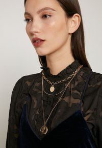 Pieces - PCDIANE COMBI NECKLACE - Ketting - gold-coloured - 1