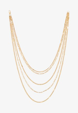PCNATINA COMBI NECKLACE KEY - Ketting - gold-coloured
