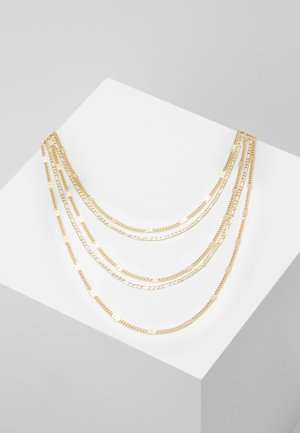PCNATINA COMBI NECKLACE KEY - Smykke - gold-coloured