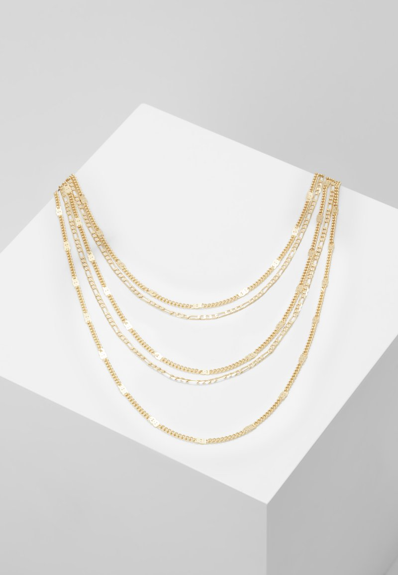 Pieces - PCNATINA COMBI NECKLACE KEY - Halskette - gold-coloured
