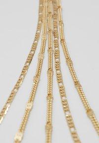 Pieces - PCNATINA COMBI NECKLACE KEY - Necklace - gold-coloured - 4