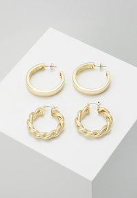 Pieces - PCOLKA HOOP EARRINGS 2 PACK - Ohrringe - gold-coloured - 0