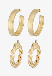 Pieces - PCOLKA HOOP EARRINGS 2 PACK - Oorbellen - gold-coloured - 3