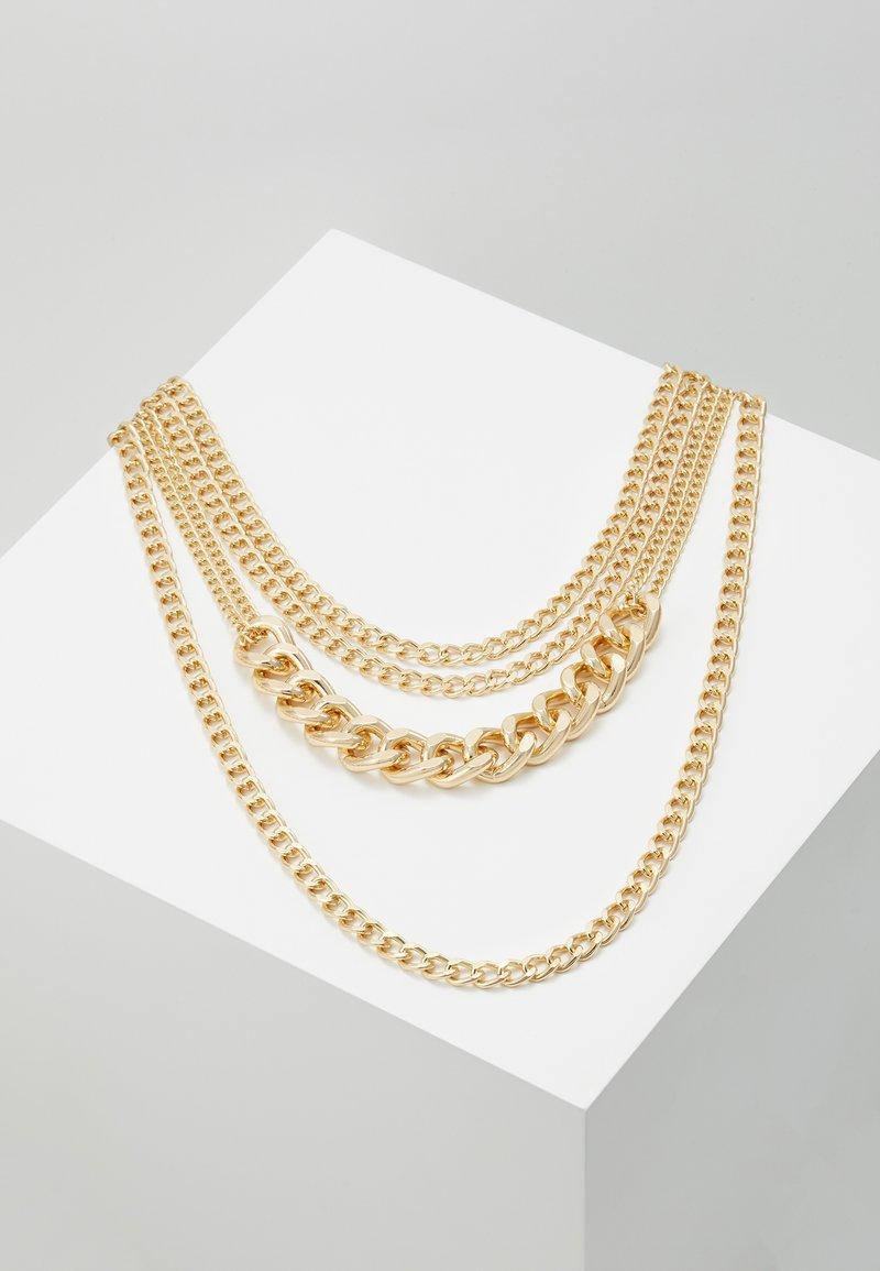 Pieces - PCOKTA COMBI NECKLACE - Collier - gold-coloured