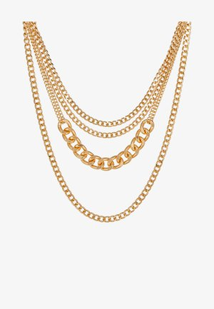 PCOKTA COMBI NECKLACE - Ketting - gold-coloured