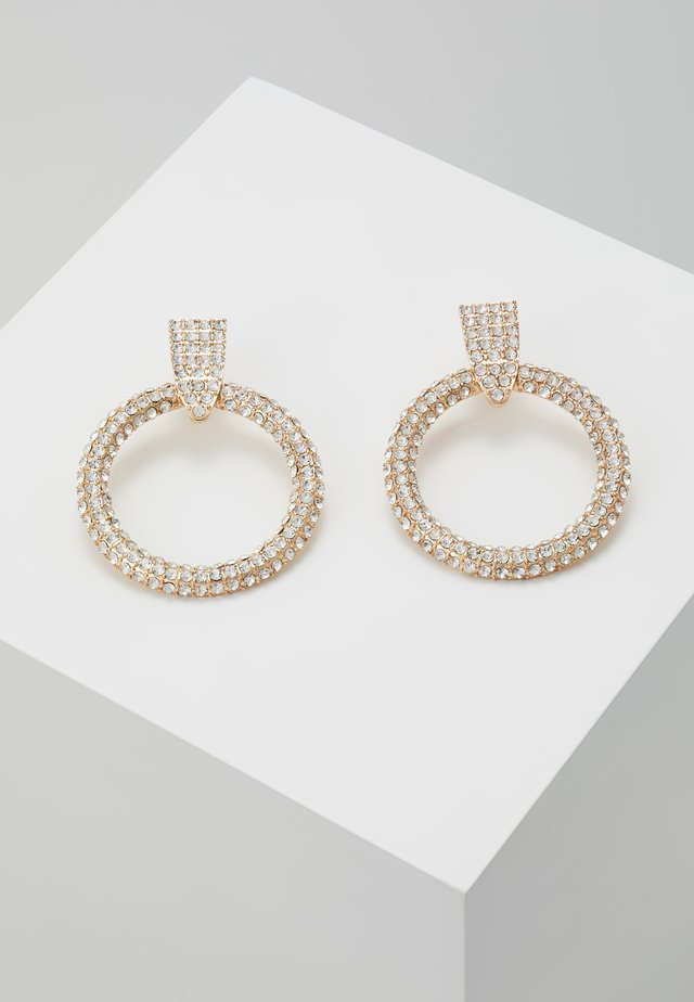 PCDARLING EARRINGS - Náušnice - gold-coloured/clear
