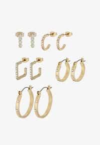 Pieces - PCNINKIE HOOP EARRINGS 5 PACK - Ohrringe - gold-coloured - 3