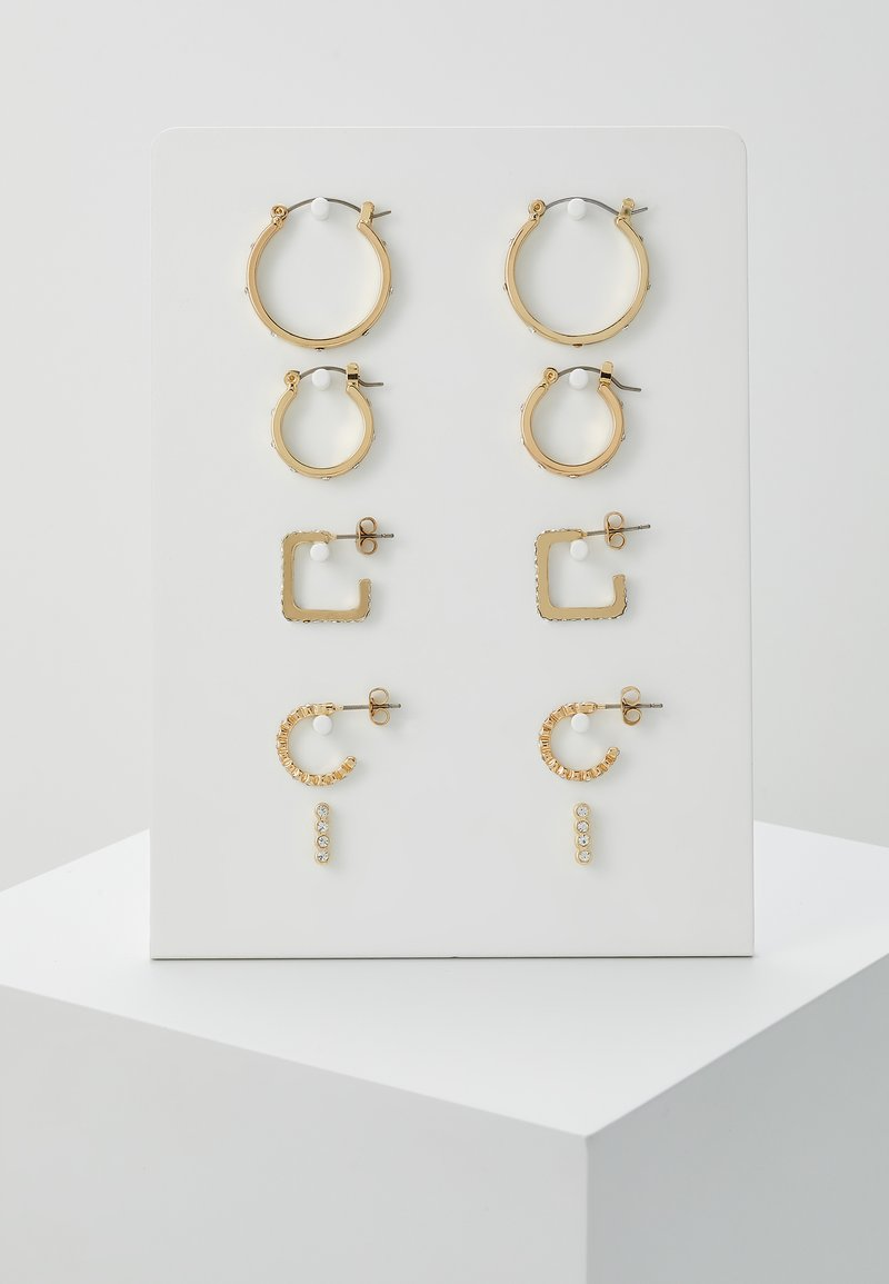 Pieces - PCNINKIE HOOP EARRINGS 5 PACK - Ohrringe - gold-coloured