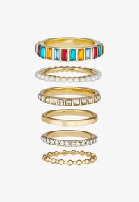 Pieces - PCKILLY 6 PACK - Ring - gold-coloured - 3